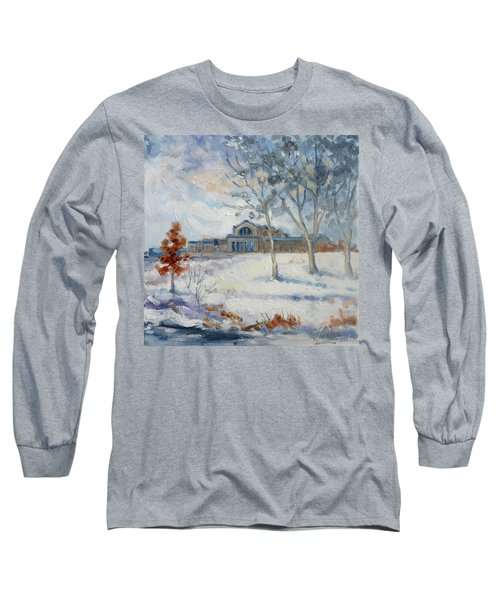 Forest Park Winter Long Sleeve T-Shirt by Irek Szelag