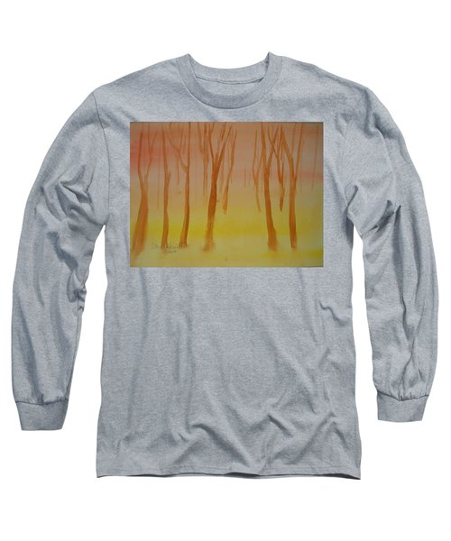 Forest Study Long Sleeve T-Shirt