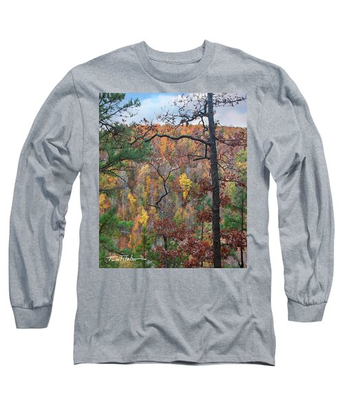 Forest Long Sleeve T-Shirt by Tim Fitzharris