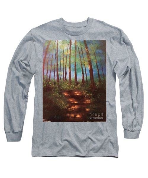 Forests Glow Long Sleeve T-Shirt