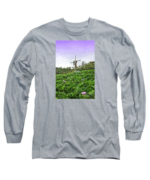 Long Sleeve T-Shirt featuring the photograph Forget Me Not by DJ Florek