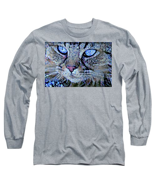 Forget Me Nots Cat - Unforgettable Long Sleeve T-Shirt