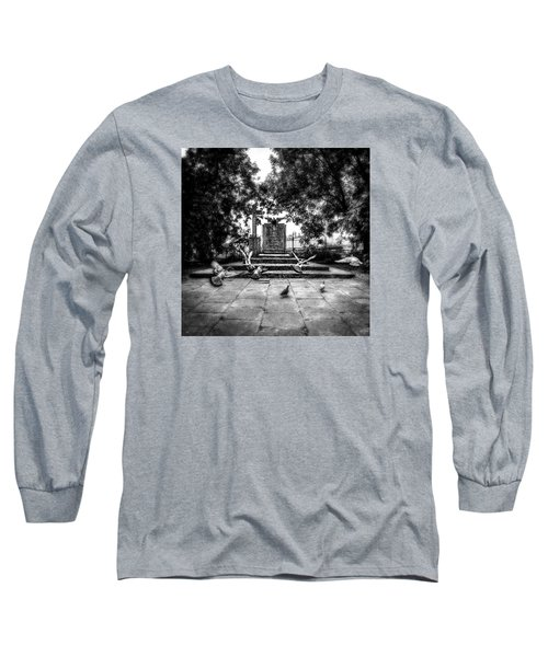 Forgotten Monument Long Sleeve T-Shirt by Jaroslaw Grudzinski