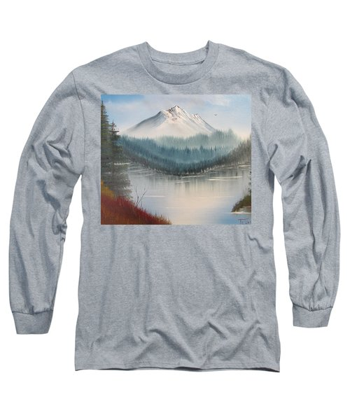 Fork In The River Long Sleeve T-Shirt by Thomas Janos