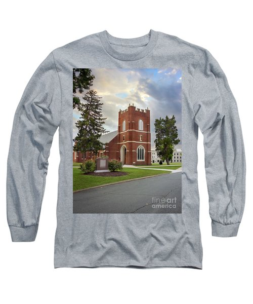 Fork Union Military Academy Wicker Chapel Sized For Blanket Long Sleeve T-Shirt