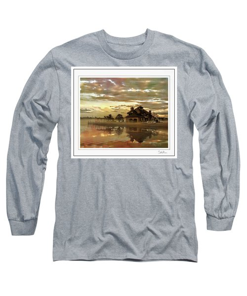 Forked River Six 3 Long Sleeve T-Shirt
