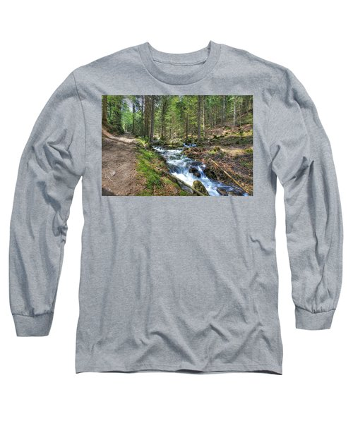 Forked Stream Long Sleeve T-Shirt