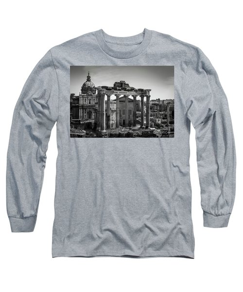 Foro Romano, Rome Italy Long Sleeve T-Shirt
