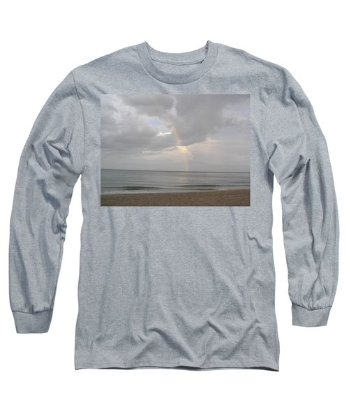 Fort Lauderdale Rainbow Long Sleeve T-Shirt by Patricia Piffath