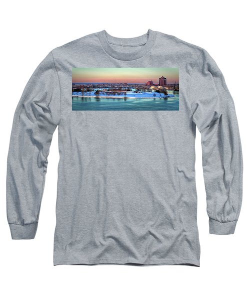 Fort Mchenry Shrouded In Snow Long Sleeve T-Shirt