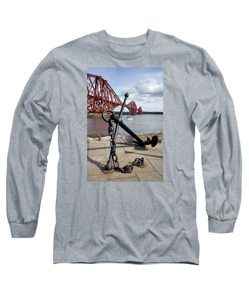 Long Sleeve T-Shirt featuring the photograph Forth Bridge by Jeremy Lavender Photography