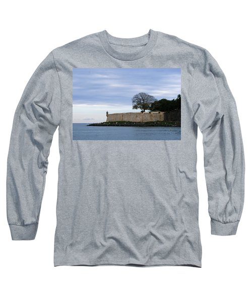 Fortress Wall Long Sleeve T-Shirt by Lois Lepisto