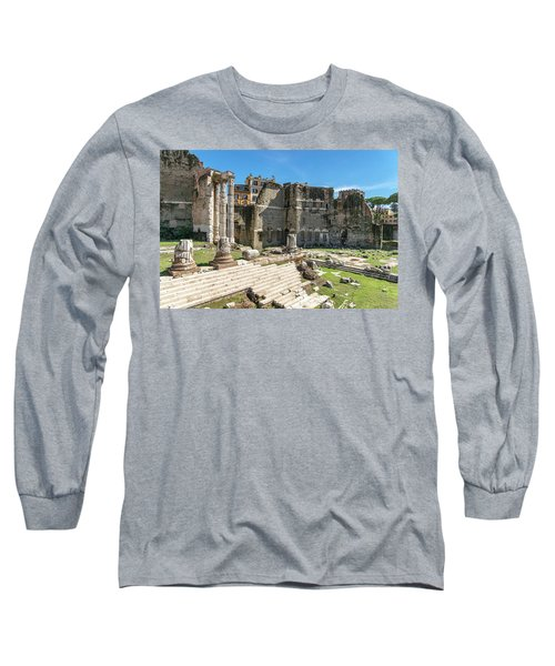 Long Sleeve T-Shirt featuring the photograph Forum Of Augustus by Scott Carruthers