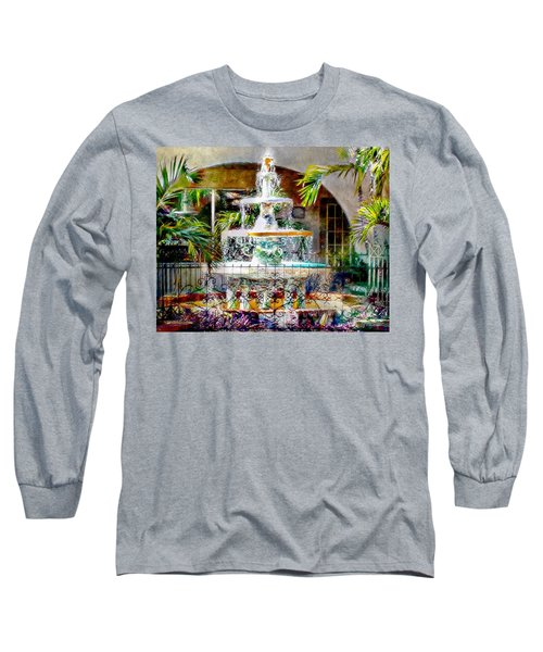 Fountain Of Water Long Sleeve T-Shirt
