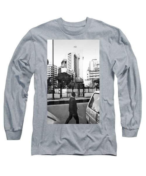 Tinubu Square Environ Long Sleeve T-Shirt