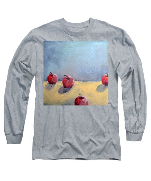 Four Apples Long Sleeve T-Shirt