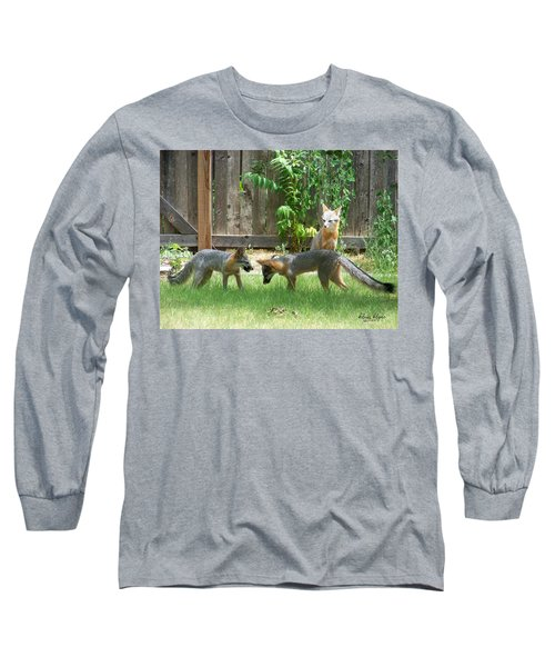 Fox Family Long Sleeve T-Shirt