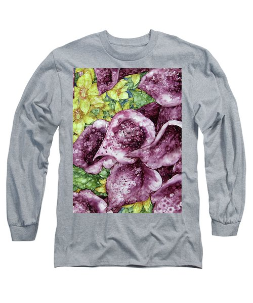 Foxgloves Long Sleeve T-Shirt