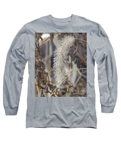 Foxtail Fur Long Sleeve T-Shirt by Christina Verdgeline