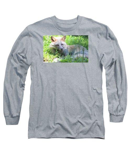 Foxy Long Sleeve T-Shirt by Debra     Vatalaro