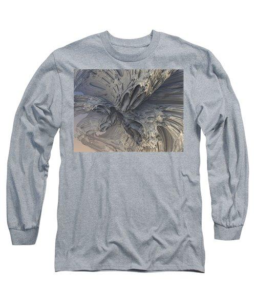 Fractal Structure 006 Long Sleeve T-Shirt