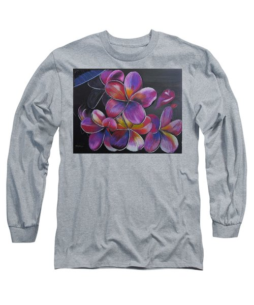 Frangipani  Long Sleeve T-Shirt