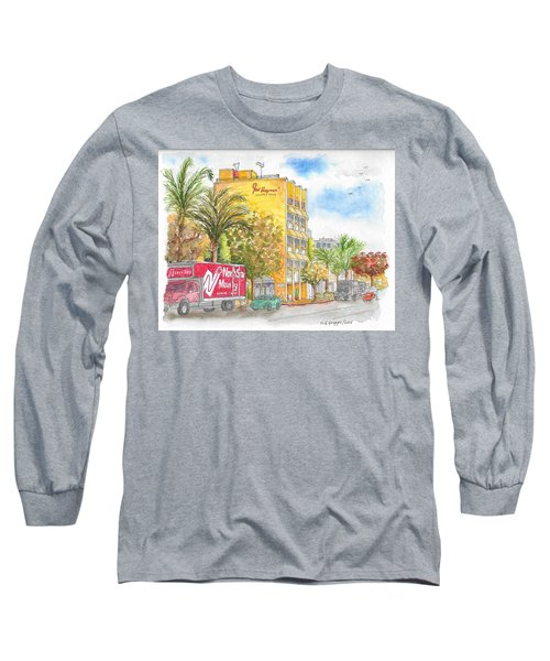 Fred Hayman Building, Cannon Dr And Clifton, Beverly Hills, Ca Long Sleeve T-Shirt