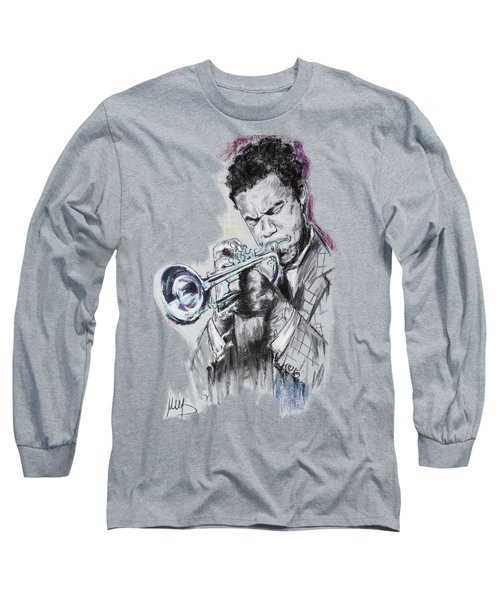 Freddie Hubbard Long Sleeve T-Shirt by Melanie D