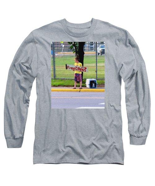 Free Kittens Long Sleeve T-Shirt