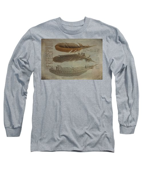 Free Spirit Long Sleeve T-Shirt by Toni Hopper