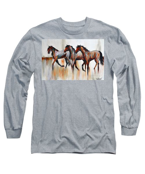 Free Spirits Long Sleeve T-Shirt by Cher Devereaux