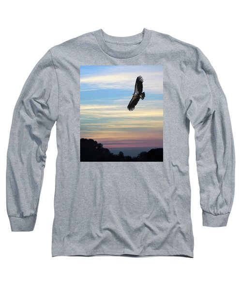 Free To Fly Again - California Condor Long Sleeve T-Shirt