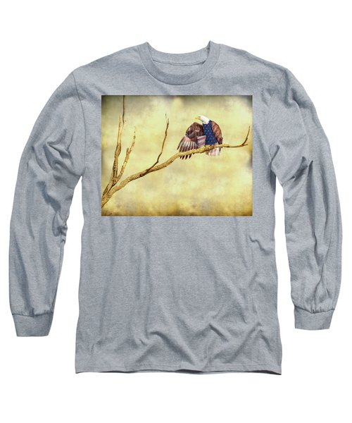Long Sleeve T-Shirt featuring the photograph Freedom by James BO Insogna