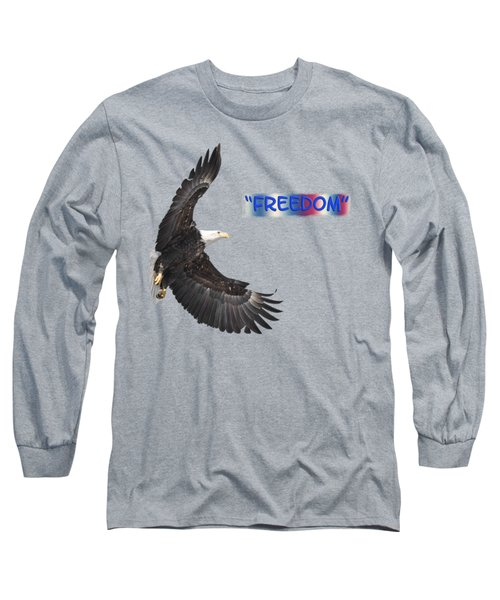 Freedom Long Sleeve T-Shirt by Thomas Young