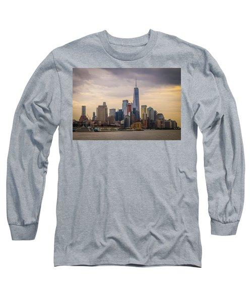 Freedom Tower - Lower Manhattan 2 Long Sleeve T-Shirt