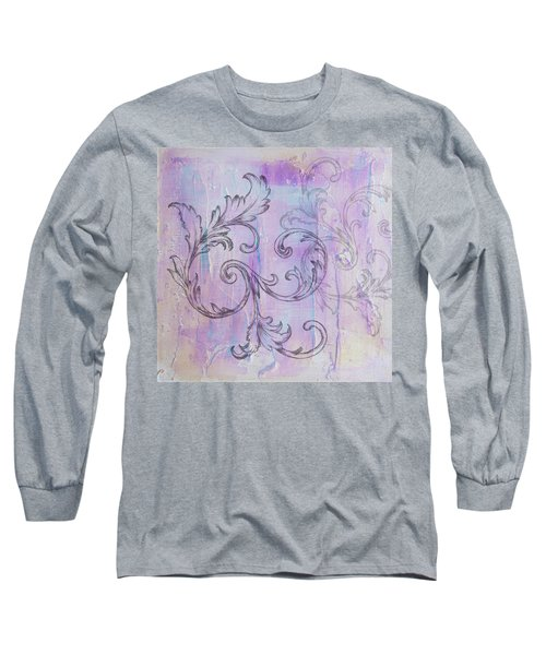 French Country Scroll Long Sleeve T-Shirt