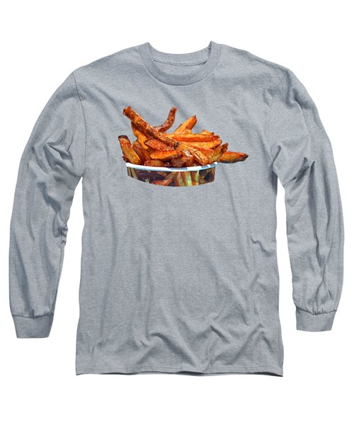 French Fries On The Boards Long Sleeve T-Shirt