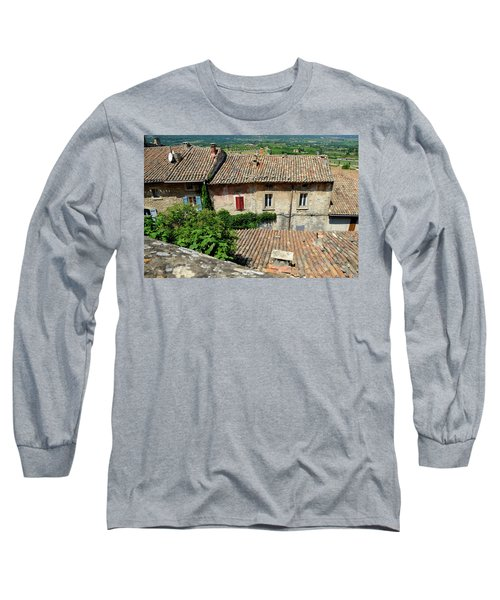 Long Sleeve T-Shirt featuring the photograph French House by August Timmermans
