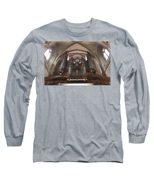 Long Sleeve T-Shirt featuring the photograph French Organ by Christin Brodie