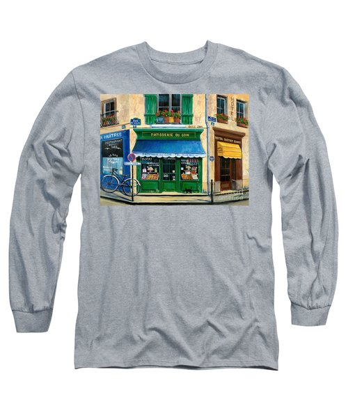 French Pastry Shop Long Sleeve T-Shirt