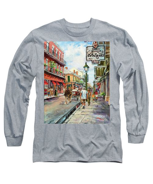 French Quarter Antiques Long Sleeve T-Shirt