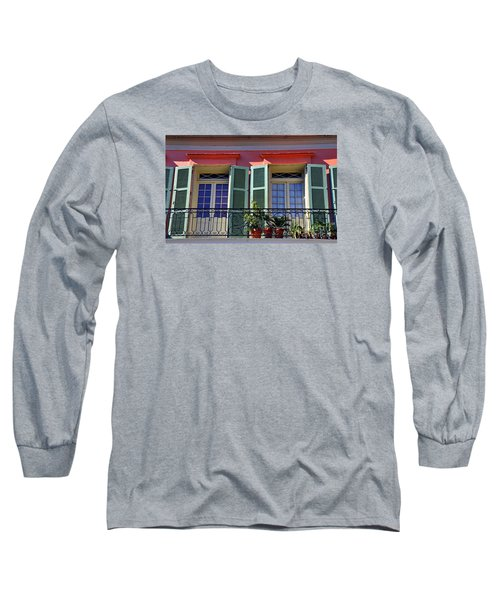 French Quarter Home Long Sleeve T-Shirt