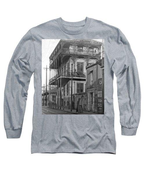 Dauphine St Residence Long Sleeve T-Shirt