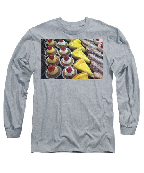 Long Sleeve T-Shirt featuring the photograph French Temptation by Therese Alcorn