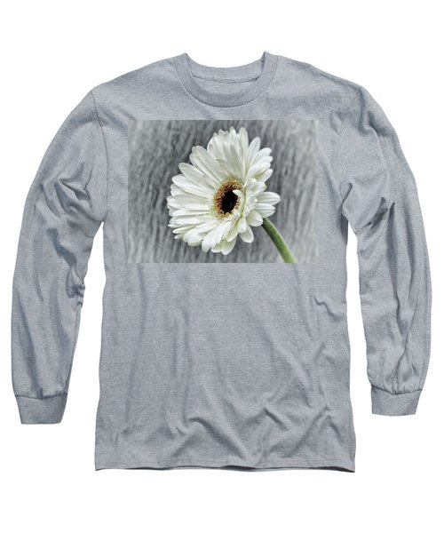 Fresh As A Daisy Long Sleeve T-Shirt by Karen Stahlros