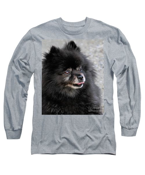 Long Sleeve T-Shirt featuring the photograph Fresh Dog by Debbie Stahre