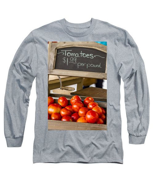 Fresh The Garden Tomatoes Long Sleeve T-Shirt