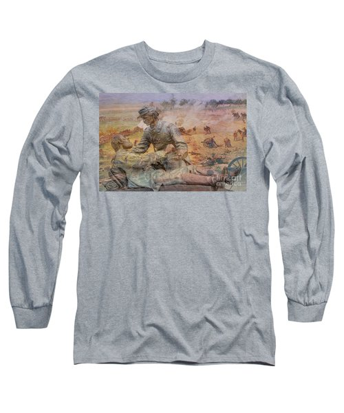 Friend To Friend Monument Gettysburg Battlefield Long Sleeve T-Shirt
