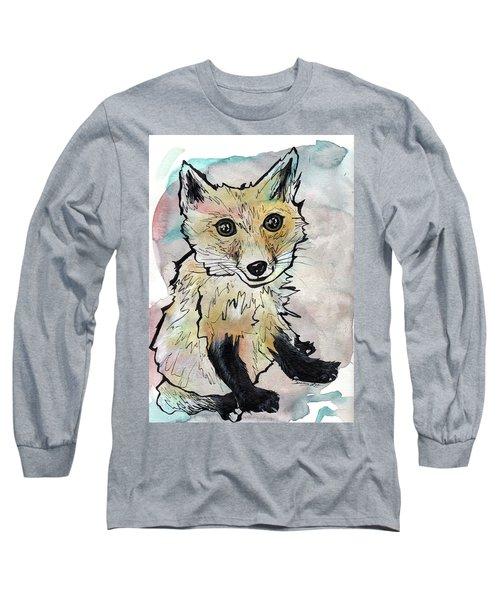 Friendly Fox Long Sleeve T-Shirt