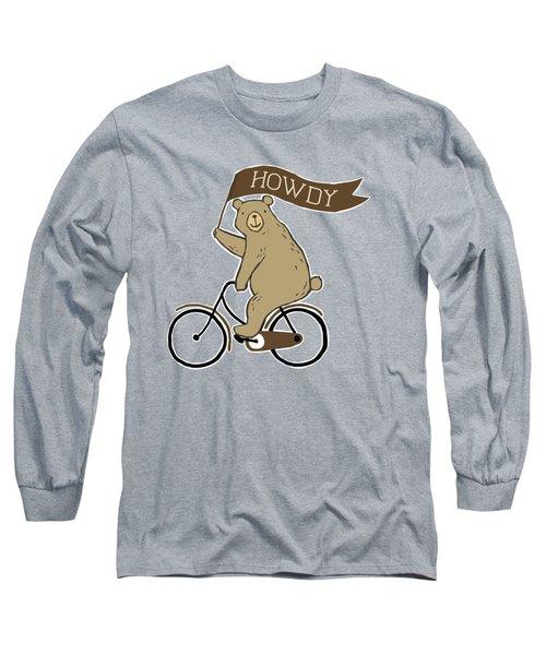 Friendly Neighborhood Bear Long Sleeve T-Shirt